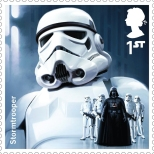 Royal Mail's Star Wars The Force Awakens Stamp Collection - Stormtrooper