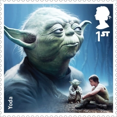 Royal Mail's Star Wars The Force Awakens Stamp Collection - Yoda