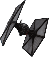 Special Forces Tie Fighter Star-Wars-The-Force-Awakens-Spacecraft-Cut-Out-with-Transparent-Background