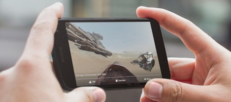 Star Wars 360 by Oculus Rift Facebook Jakku 360