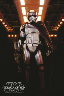 star-wars-capitan-phasma poster