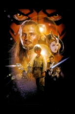 Star Wars - Episode I The Phantom Menace Poster Without Word all Text Removed