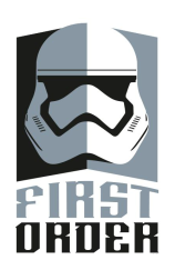 Star Wars The Force Awakens First Order and Resistance Stickers Decals Insignia_11