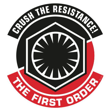 Star Wars The Force Awakens First Order And Resistance Stickers