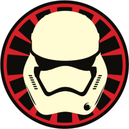 Star Wars The Force Awakens First Order and Resistance Stickers Decals Insignia_43