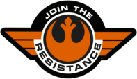Star Wars The Force Awakens First Order and Resistance Stickers Decals Insignia_58