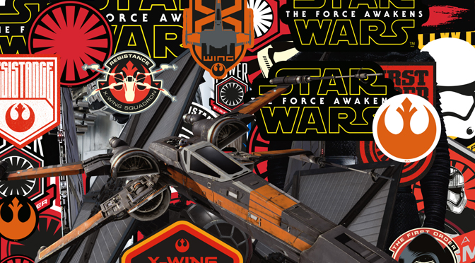 Force Awakens Sticker Collection