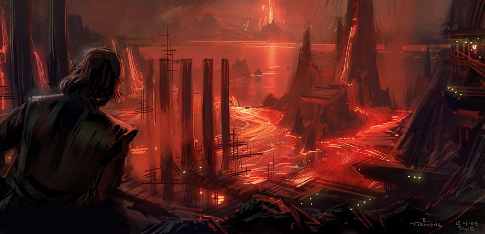 The Art Of Revenge Of The Sith By Erik Tiemens Geek Carl