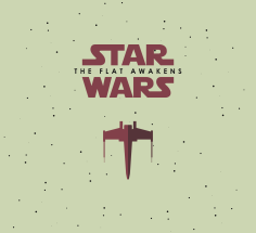 The Art of Star Wars The Force Awakens Flat Icons