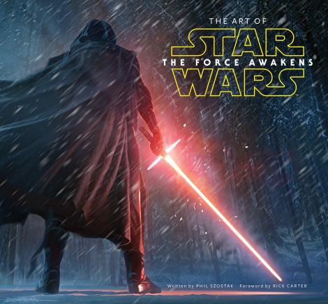 The Art of Star Wars The Force Awakens Front Cover