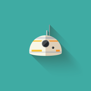 The Art of Star Wars The Force Awakens Icons - BB8