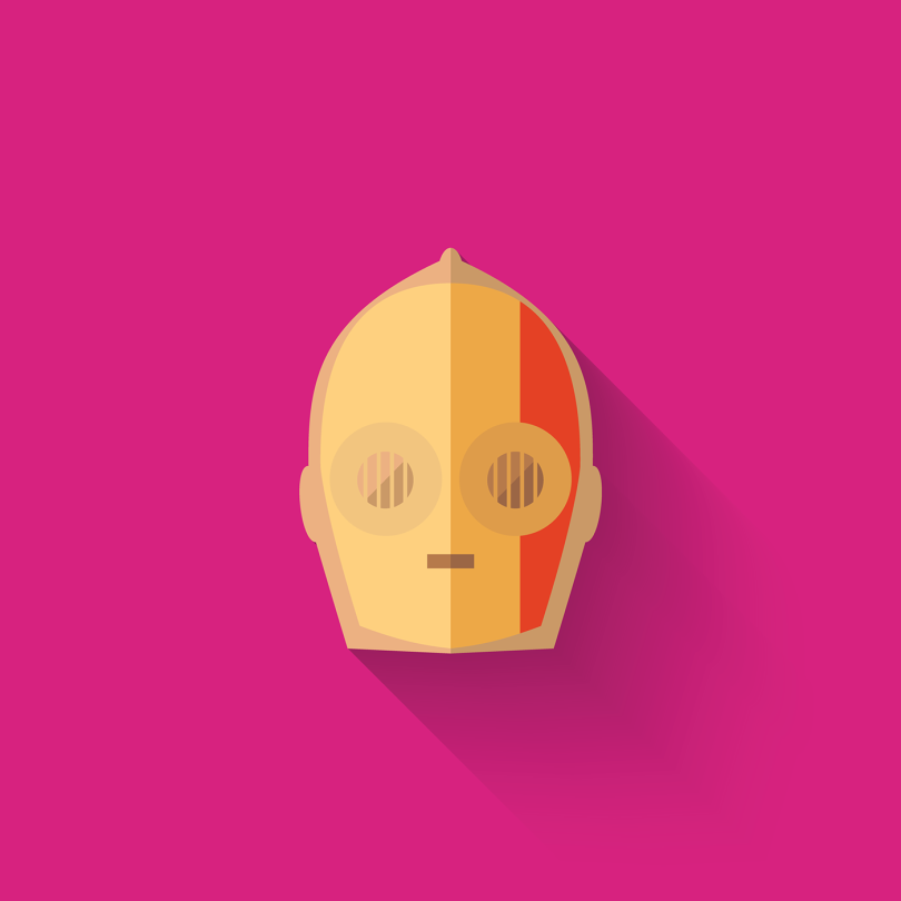 The Art of Star Wars The Force Awakens Icons - C3PO