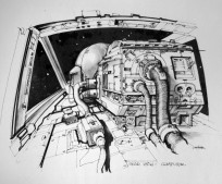 The Art of Star Wars Tie Fighter Pilot by Joe Johnston