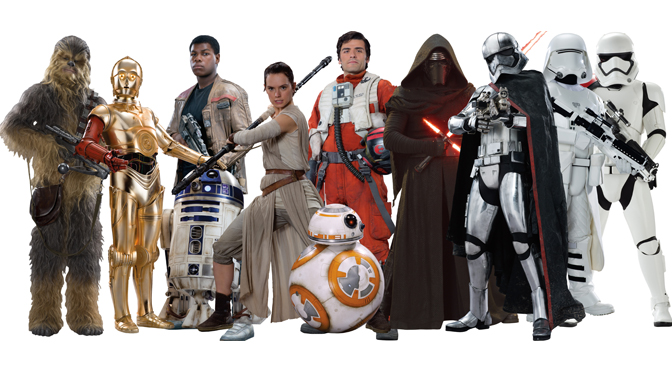 The New Characters of Star Wars