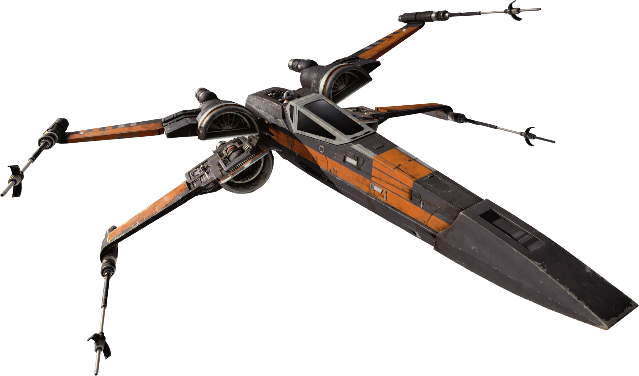 Y Wing Png X Wing T-70 Black Squa...