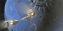 Ralph McQuarrie The Force Awakens Death Star Concept