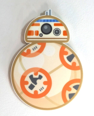 100% Soft BB-8 Star Wars Art Awakens by Truck Torrence