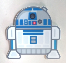 100% Soft R2D2 Star Wars Art Awakens by Truck Torrence