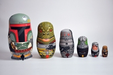 Andy Stattmiller Bounty Hunter Russian Dolls Art Awakens 2
