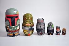 Andy Stattmiller Bounty Hunter Russian Dolls Art Awakens 2