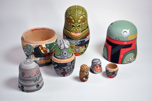 Andy Stattmiller Bounty Hunter Russian Dolls Art Awakens 4