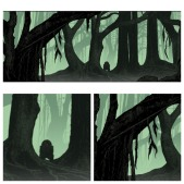 Dagobah Art Awakens by Dan McCarthy