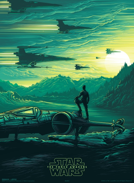 Dan Mumford Star Wars The Force Awakens IMAX Poster 2 of 4