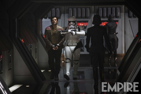 Empire Magazine Exclusive Poe Dameron captured by the First Order Hi Res