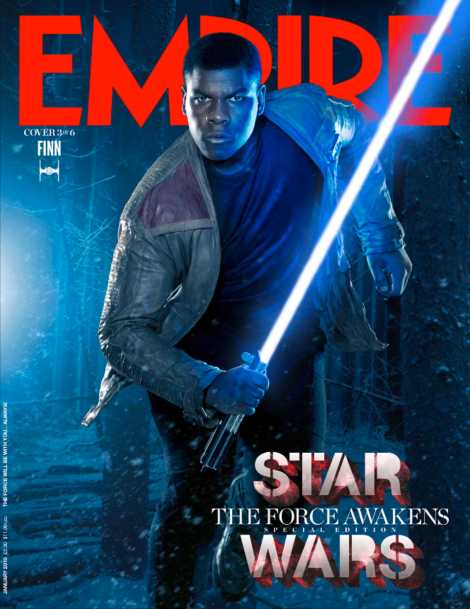 Empire Magazine Star Wars The Force Awakens Special Edition Covers Jan 2016 _ Finn Hi Res