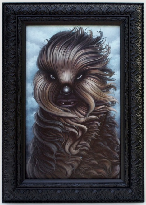 Fuzzball Original Star Wars Artwork by Shannon Bonatakis
