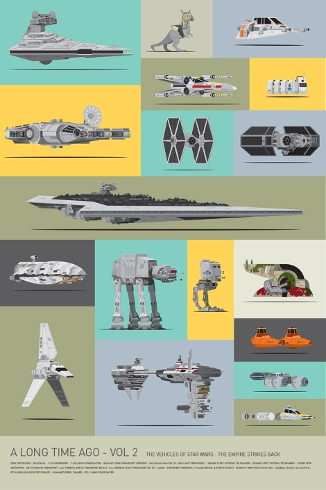 Mondo Art of the Vehicles from the Star Wars Original Trilogy Volume 2 Empire Strikes Back by Scott Park