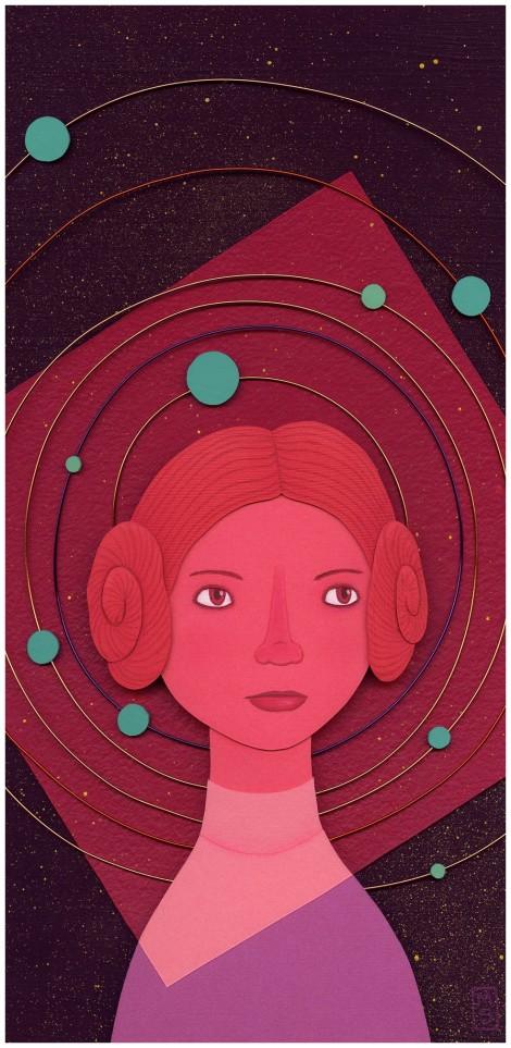 Rebel Rebel - Star Wars - Art Awakens by Meghan Stratman