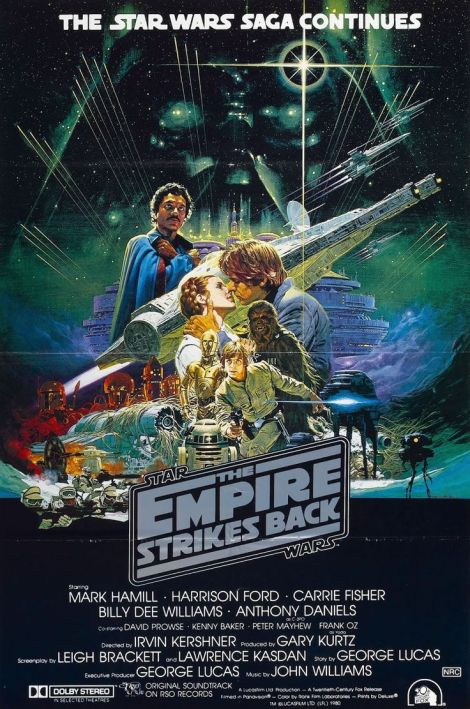 RIP Noriyoshi Ohrai Star Wars Empire Strikes Back Film Poster