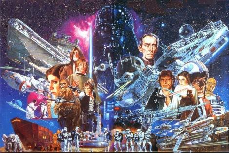 Noriyoshi Ohrai Star Wars Japanese Film Poster 2
