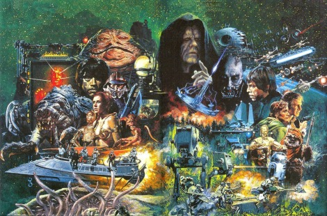 RIP Noriyoshi Ohrai Star Wars Return of the Jedi Japanese Film Poster