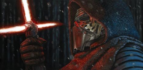 Star Wars - Art Awakens Exhibition -Kylo Ren by Jeremy P