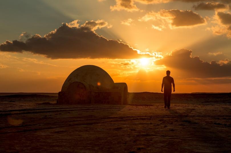 Star Wars Lars homestead Chott El-Jerid Tunisia _ Star Wars Tatooine Location
