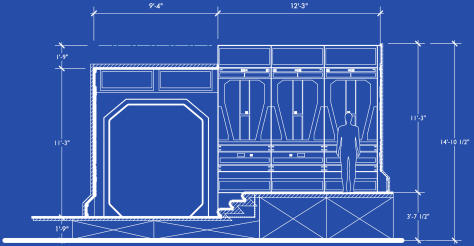 Star Wars The Force Awakens Blueprints of Starkiller Base Elevation G Detail