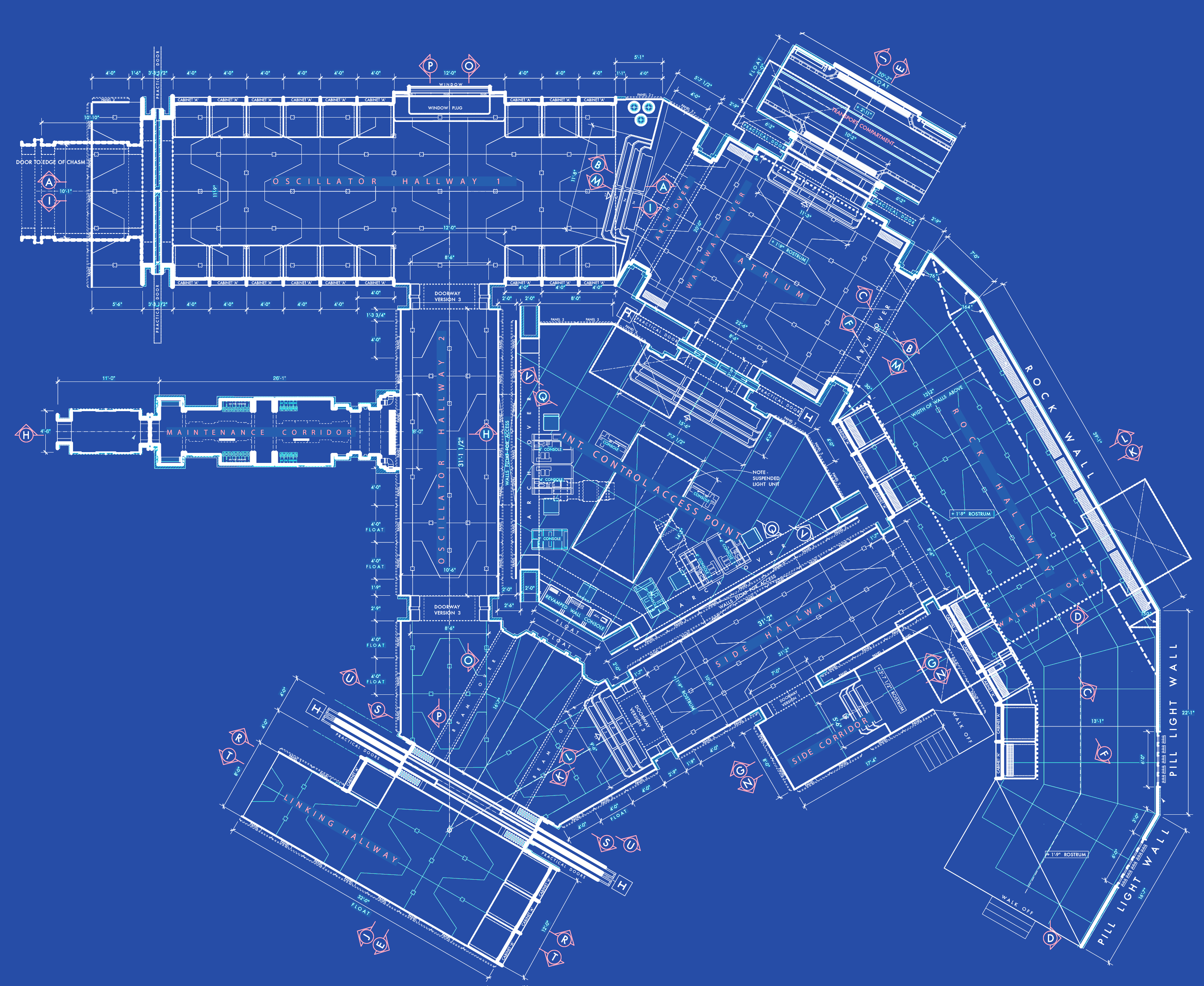 The gallery for tardis blueprints pdf for Floor plan blueprint