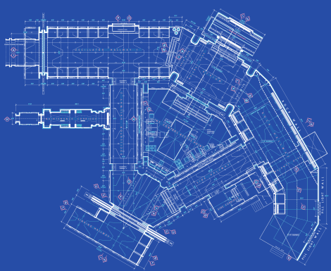 Star Wars The Force Awakens Blueprints of Starkiller Base Floor Plans