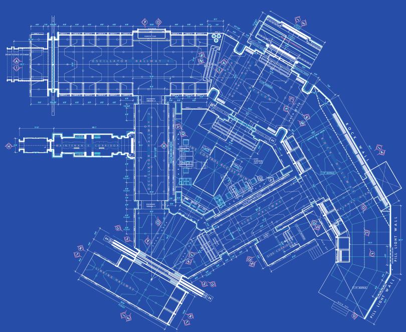 Star Wars The Force Awakens Blueprints of Starkiller Base Floor Plans