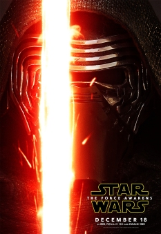 Star Wars The Force Awakens Hi Res Character Film Posters Kylo Ren