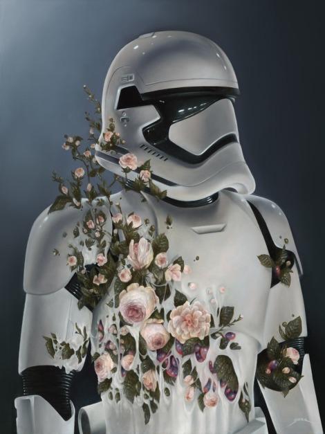 The Art Awakens A New Order Original Star Wars Artwork by Bennett Slater