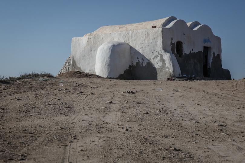 The home of Ben Kenobi, now a fisherman's shack on the island of Djerba -Tunisia _ Star Wars Tatooine LocationThe home of Ben Kenobi, now a fisherman's shack on the island of Djerba -Tunisia _ Star Wars Tatooine Location