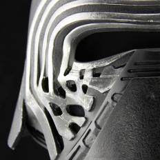 The Replica Helmet of Kylo Ren from Star Wars The Force Awakens