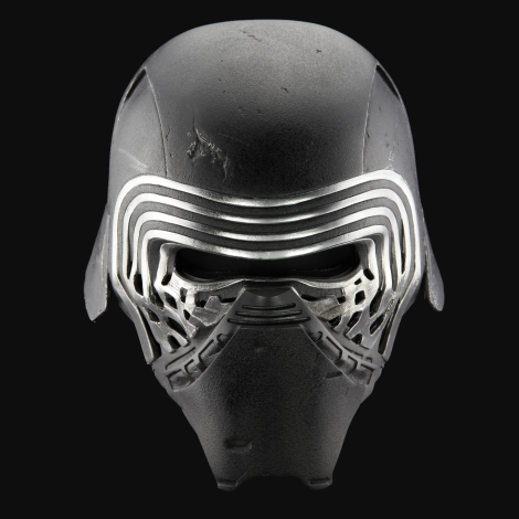 Hi Res Helmet of Kylo Ren