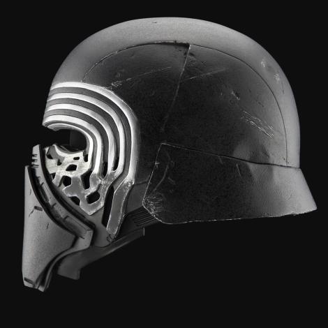 The Helmet of Kylo Ren from The Knights of Ren