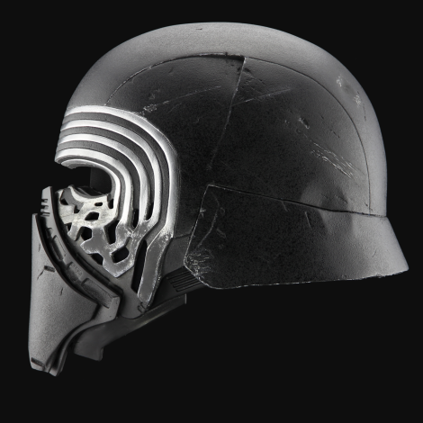 The Helmet of Kylo Ren from The Knights of Ren