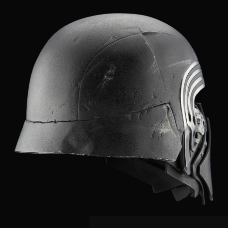 The Replica Helmet of Kylo Ren from Star Wars The Force Awakens