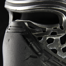 Detailed Replica Helmet of Kylo Ren from The Force Awakens